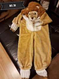 brown and white lion costume Calgary, T2J 6H9