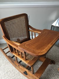 Restored Antique Convertible Baby Rocker and Highchair - One of a kind Waltham, 02453
