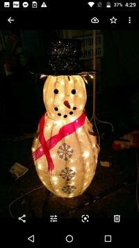 Price firm.. 34 in light up snowman Deer Park, 11729