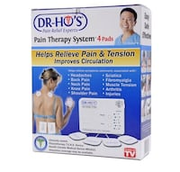 Brand new never opened Dr Ho 4 pad Pain therapy system $70!!! Toronto, M8W 2L5