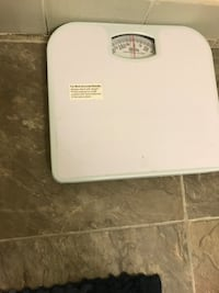 white analog bathroom scale Newark, 07104