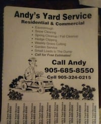Lawn mowing St. Catharines