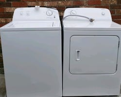 Washer and dryer electric set