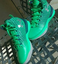 Curry one under armour gamma green Riverside, 92503