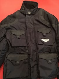 Motorcycle jacket with removal liner size medium