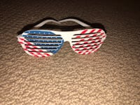 white and red framed sunglasses Moraga, 94556