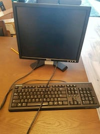 Dell 17 inch monitor and keyboard  Vancouver, V6J 1C5
