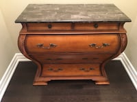 Bombay Chest with Marble Top King, L7B 0B4