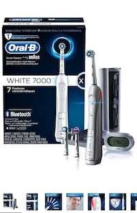 Oral-B Pro 7000 SmartSeries Power Rechargeable Electric Toothbrush Designed by Braun,  Toronto, M3K 1H5