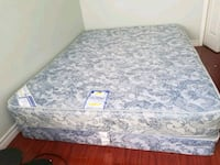 Queen Mattress And Box Spring (Used) Toronto, M6N 3J7