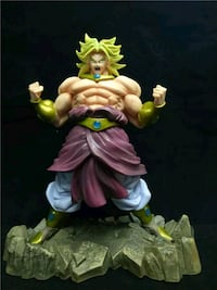 Broly Dragon Ball  Madrid