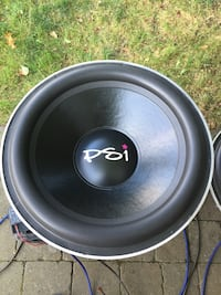 """18"""" FI BTL with PSI recone subwoofers"""