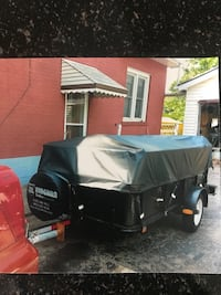 SnoBear 4x8 trailer with brand new cover