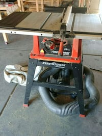 Firestorm black and Decker table saw North Las Vegas, 89031