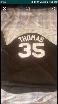 1996 Frank Thomas spring training Jersey Riverview, 33579