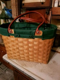 Lg longaberger boardwalk basket REDUCED  Hagerstown, 21740