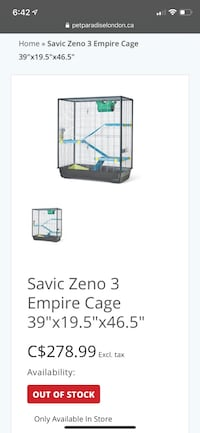 Large Rodent Enclosure with Accessories