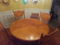 Table and Chairs Dinette Set - Solid Wood Jonesboro, 30236