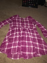 Large Flannel Dress Wylie, 75098