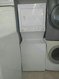 white stackable washer and dryer Mount Clemens, 48043