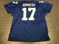 Blue and white and white nfl jersey shirt  Toronto, M6A