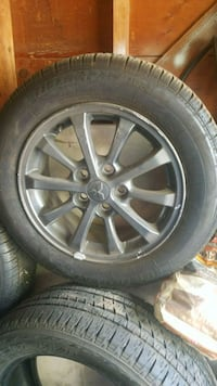 Wheels and tires great shape cheap  Odessa