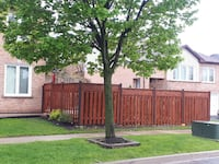Fence and deck painting Brampton, L7A 2H6