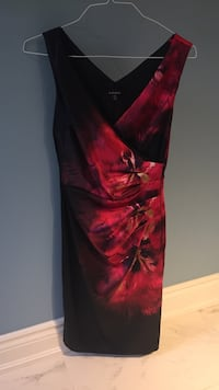 women's red and black sleeveless dress Mississauga, L5L 4T9