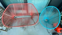 Acapulco chair and bench set Mississauga, L5B 4M6