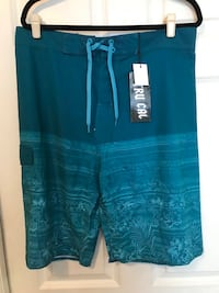 Try Cal waterboard Shorts color Teal sized 36W & 38W  New York, 11378