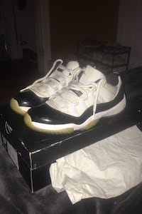 2014 Retro Jordan 11 low Concord size 9.5.  Price negotiable  Bay Shore, 11706