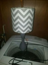 white and gray chevron table lamp Martinsburg, 25404