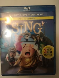 Sing Blueray + dvd + hd digital download unopened View Park, 90008