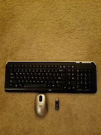 HP Wireless keyboard and mouse North Las Vegas, 89084