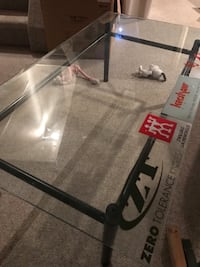 Glass Coffee Table.