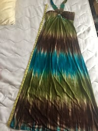 Multicolor Long Beach dress size small Springfield, 22150