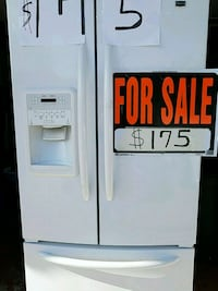 white side by side refrigerator with dispenser Toms River, 08757