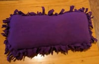 Purple fleece pillows 117 mi