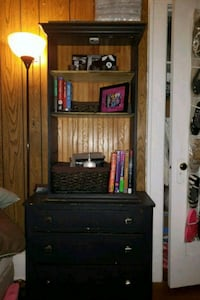 brown wooden cabinet with shelf Rochester, 14607