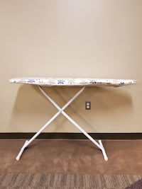WHITE IRONING BOARD w/Cover (firm price).