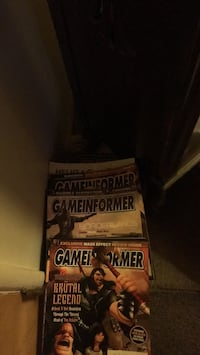 Game informer magazines  collection about 30  Covina