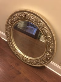 round silver-colored framed mirror Columbus, 43017