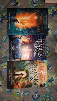 Other Rick Riordan Books (Percy Jackson Related)
