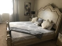 Tempur Up  box springs and King memory foam mattress only Austin, 78738