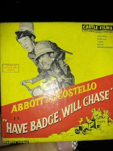 Used, Abbott And Costello 8Mm Film for sale  West Seneca, NY