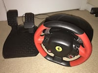 Ferrari Thrustmaster gaming wheel. (XBOX) Arlington, 22202