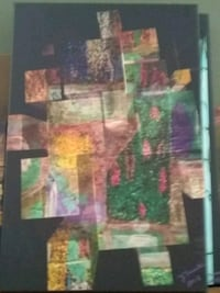 PUZZELED ::ORIGINAL ABSTRACT ARTWORK SIGNED&NUM St. Louis, 63109
