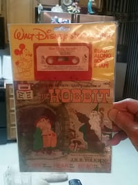 Walt Disney the Hobbit cassette tape