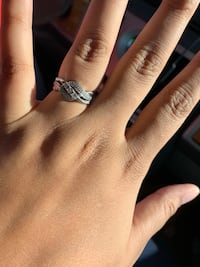 Silver ring size 8 Omaha, 68116