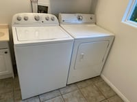 Functioning Washer & Dryer, no delivery